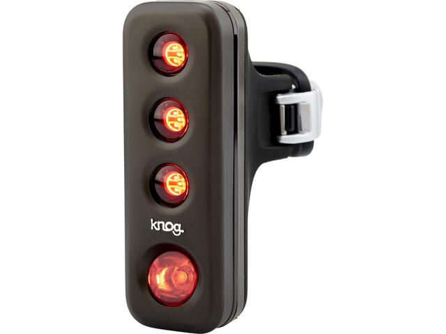 Knog Blinder Road R70 Fietsverlichting rode LED, pewter